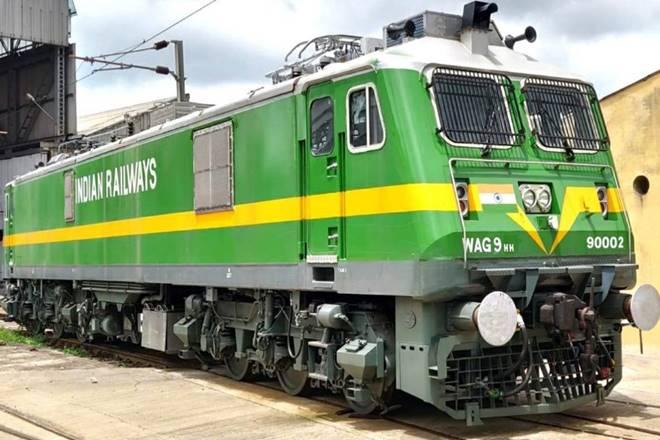 9000 HP Locomotive