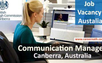 Communication Manger Job
