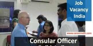 Consular Officer Job