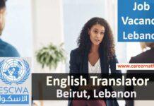 English Translator Job