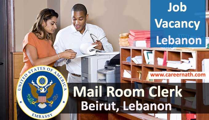 Mailroom Clerk Job