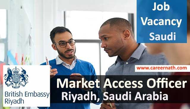 Market Access Officer Job