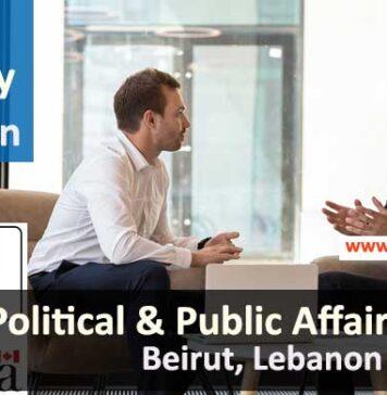 Political & Public Affairs Officer