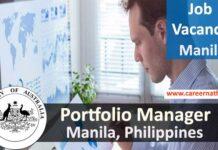 Portfolio Manager Job