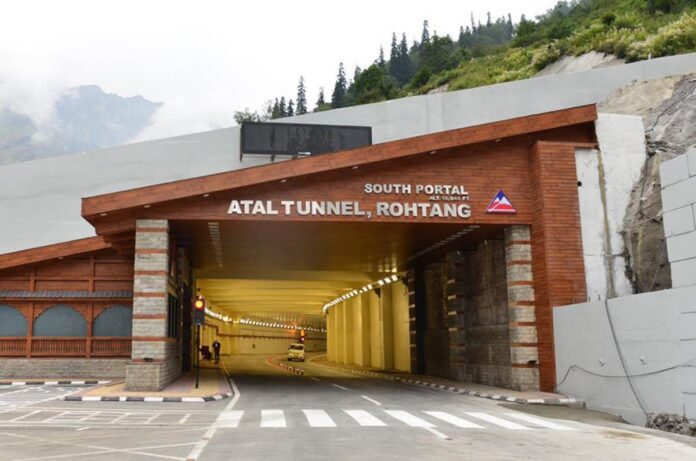 Atal Tunnel Facts