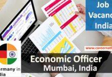 Economic Officer Job