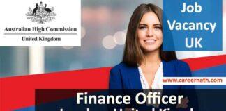 Finance Officer Job